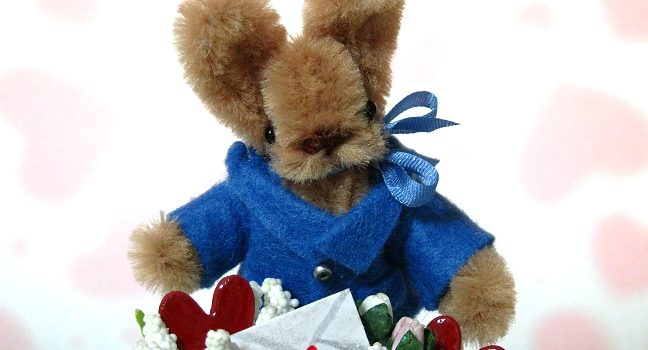 Valentine Peter Rabbit